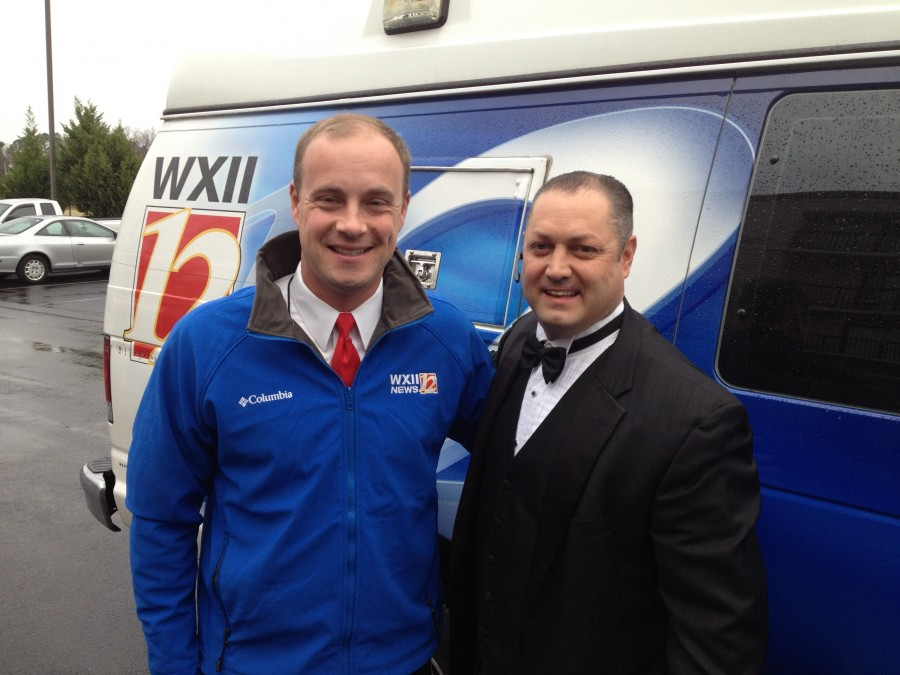 WXII Kenny Beck with Jeff