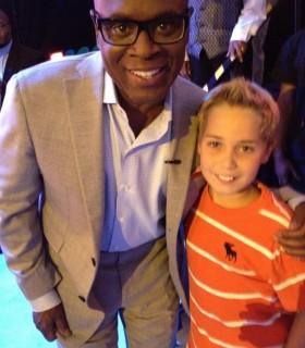 L.A. Reid with Gavin Kernstine
