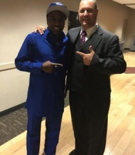 Eddie Griffin with Jeff Kernstine