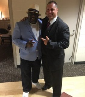 Cedric The Entertainer with Jeff Kernstine