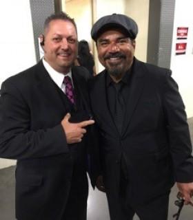 George Lopez with Jeff Kernstine