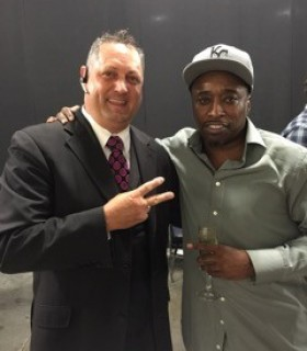 Eddie Griffin with Jeff Kernstine