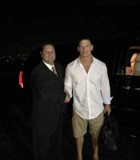John Cena with Jeff Kernstine
