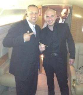 Pitbull with Jeff Kernstine